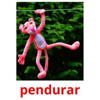 pendurar picture flashcards