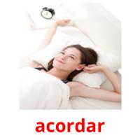 acordar picture flashcards