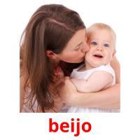 beijo picture flashcards