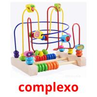 complexo picture flashcards