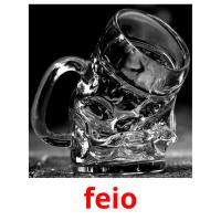 feio picture flashcards