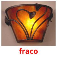 fraco picture flashcards