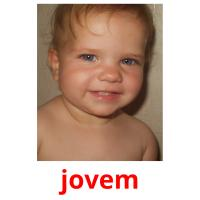 jovem picture flashcards
