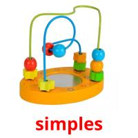 simples picture flashcards