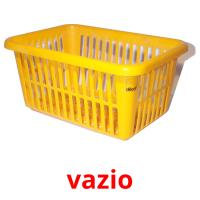 vazio picture flashcards