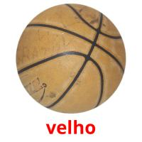 velho picture flashcards