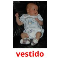 vestido picture flashcards