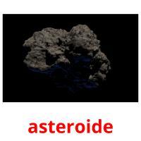asteroide picture flashcards