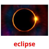 eclipse picture flashcards