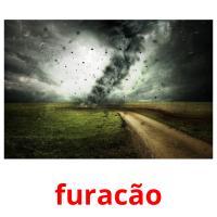 furacão picture flashcards
