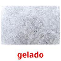 gelado picture flashcards