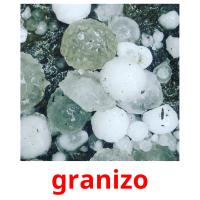 granizo picture flashcards