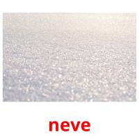 neve picture flashcards