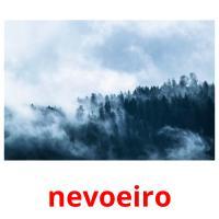 nevoeiro picture flashcards