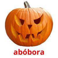 abóbora picture flashcards