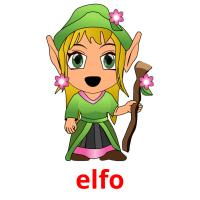 elfo picture flashcards