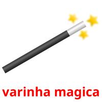 varinha magica picture flashcards