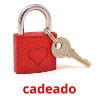 cadeado picture flashcards
