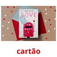 cartão picture flashcards