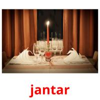 jantar picture flashcards
