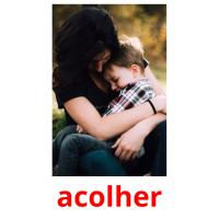 acolher picture flashcards