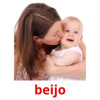 beijo picture flashcards