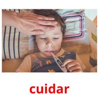 cuidar picture flashcards