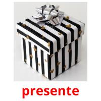 presente picture flashcards