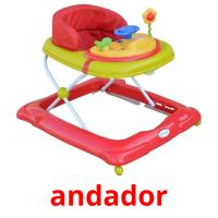 andador picture flashcards