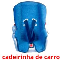 cadeirinha de carro card for translate