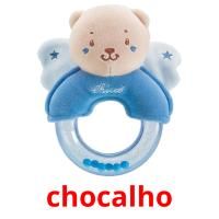 chocalho picture flashcards