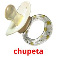 chupeta picture flashcards