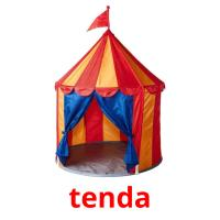 tenda picture flashcards