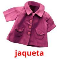 jaqueta picture flashcards