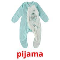 pijama picture flashcards