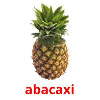 abacaxi picture flashcards