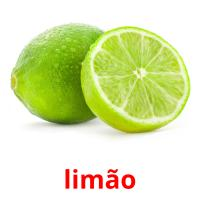limão picture flashcards