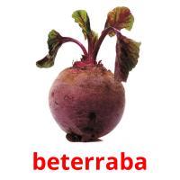 beterraba picture flashcards