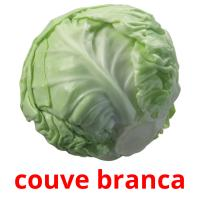 couve branca picture flashcards