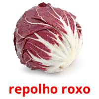 repolho roxo picture flashcards