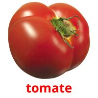 tomate picture flashcards