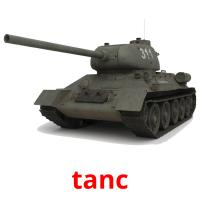tanc picture flashcards