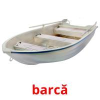 barcă picture flashcards