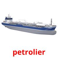 petrolier picture flashcards