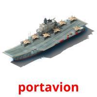 portavion picture flashcards