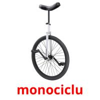 monociclu picture flashcards