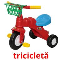 tricicletă picture flashcards