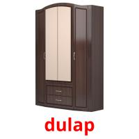 dulap picture flashcards