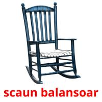 scaun balansoar picture flashcards