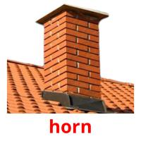 horn picture flashcards